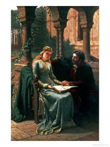 Abelard and His Pupil Heloise, 1882 Giclee Print