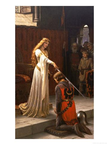 The Accolade, 1901 Giclee Print