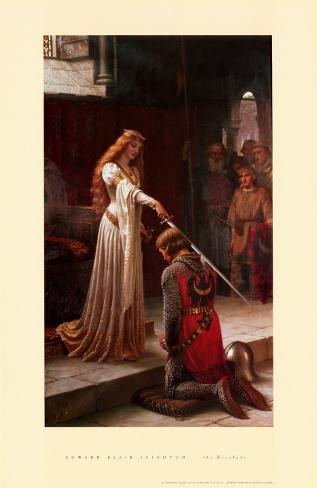 The Accolade, 1901 Art Print