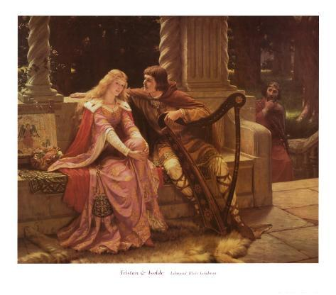 Tristan and Isolde Art Print