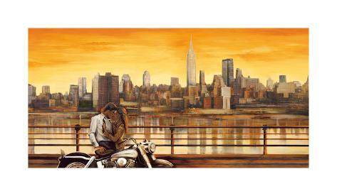 Lovers in New York Giclee Print