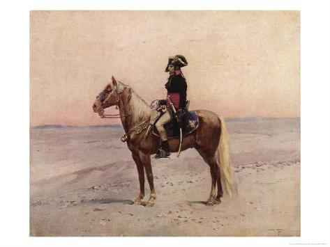 Napoleon I During the Egyptian Campaign 1798 Giclee Print