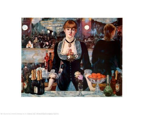 an analysis of edouard manets last painting a bar at the folies bergere How manet's a bar at the folies-bergere is his last great and ambitious painting edouard manets 'bar aux folies-bergere,' in beitrdge fiir georg swarzenski.
