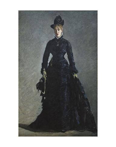 La Parisienne, c. 1876 Lámina giclée