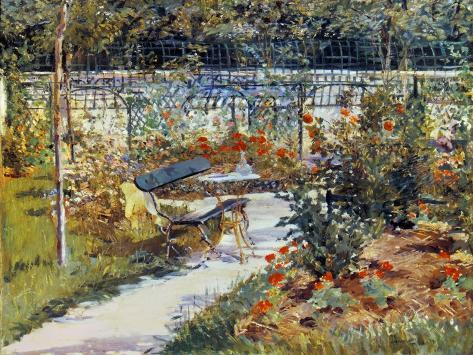 Manet: Garden, 1881 Giclee Print
