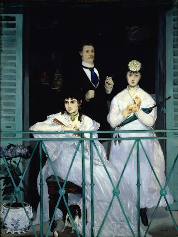 The Balcony Giclee Print