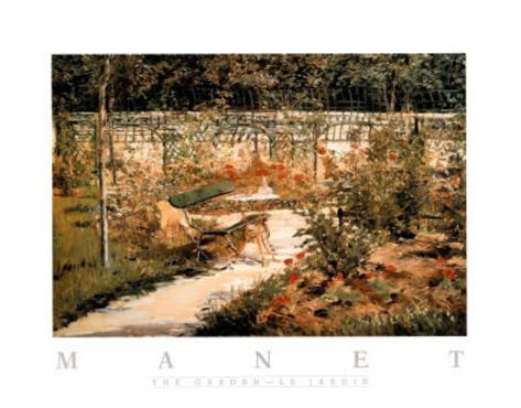 The Garden Le Jardin Poster