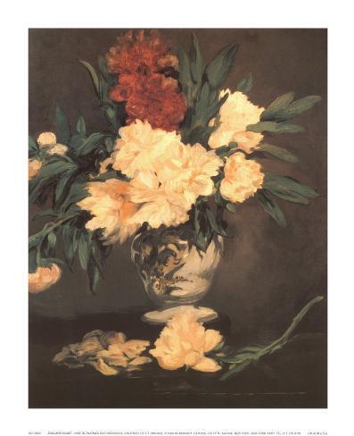 Vase de Piviones sur Piedouche Art Print