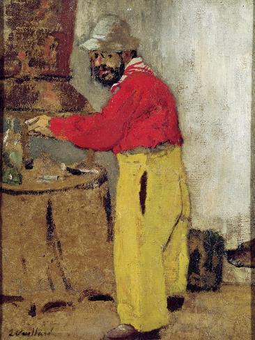 Henri De Toulouse-Lautrec at Villeneuve Sur Yonne, 1898 Giclee Print