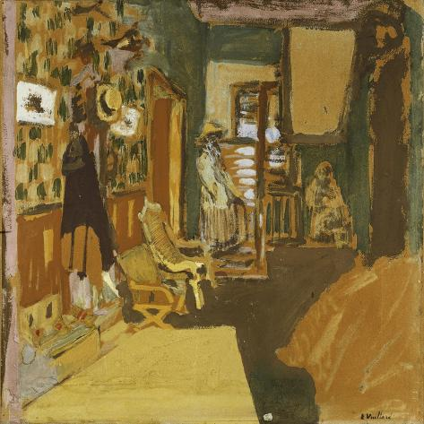 Mme Hessel in the Hallway, C.1909 Lámina giclée