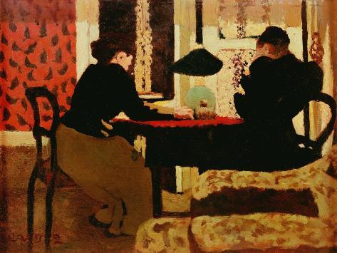 Women by Lamplight, 1892 Lámina giclée