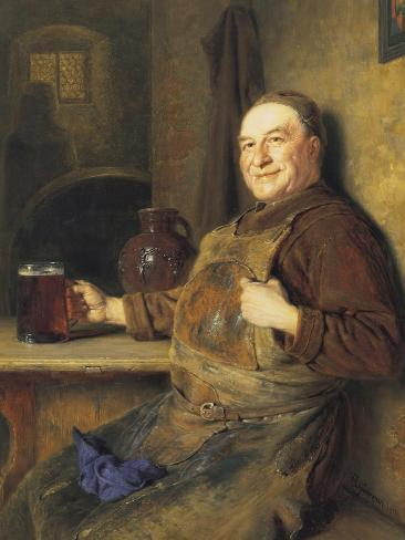 The Brewmaster's Break Giclee Print