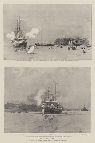 The Cowes Week Giclee Print