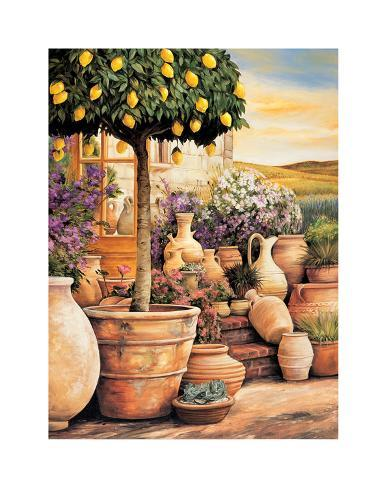 Lemon Topiary Giclee Print
