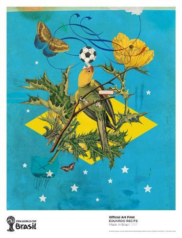 Made in Brazil Collectable Print