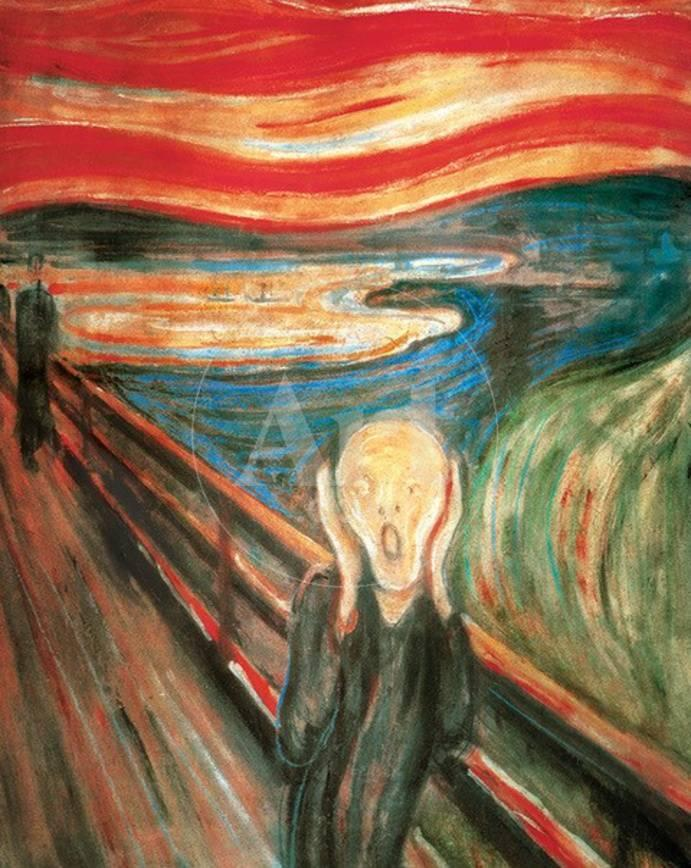 El grito Láminas por Edvard Munch en AllPosters.es