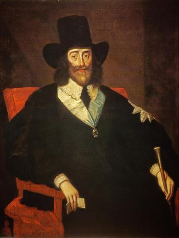 Portrait of King Charles I (1625-49) at His Trial (See also 162534 and 245466) Giclee Print