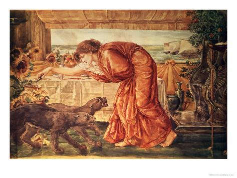 Circe Pouring Poison into a Vase and Awaiting the Arrival of Ulysses Giclee Print