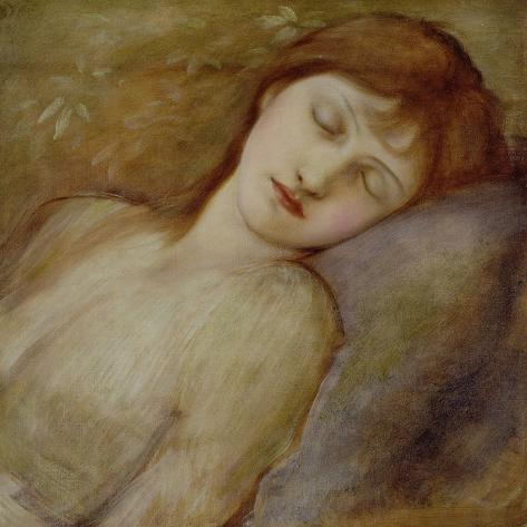 Study for the Sleeping Princess in 'The Briar Rose' Series, c.1881 Giclee Print