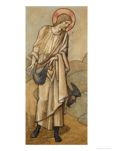 The Sower: a Design for Stained Glass at Brighouse, Yorkshire, 1896 Giclee Print