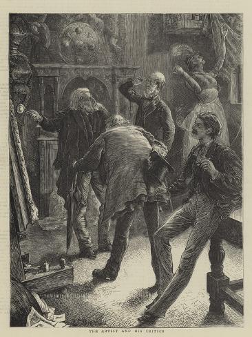 The Artist and His Critics Lámina giclée
