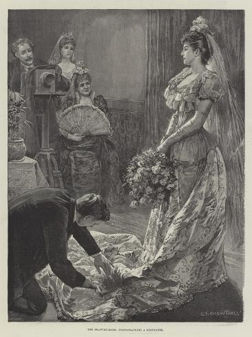 The Drawing-Room, Photographing a Debutante Lámina giclée