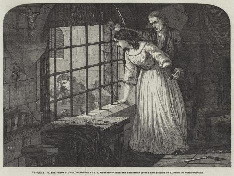 Picciola; Or, the Prison Flower Giclee Print