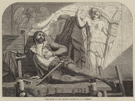 The Death of Jean Goujon Giclee Print