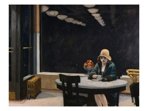 Automat Giclee Print By Edward Hopper Allposters Co Uk