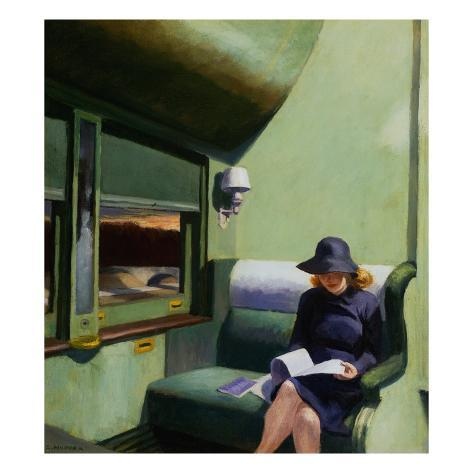 Compartment C, Car 293 Giclee Print