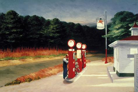 Gas, 1940 Taidevedos