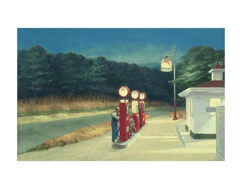 Gas, c.1940 Art Print