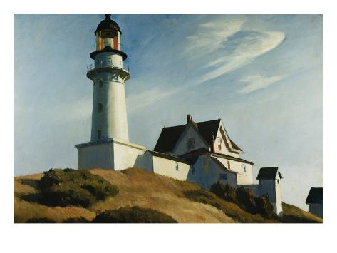 Lighthouse at Two Lights Giclée-vedos