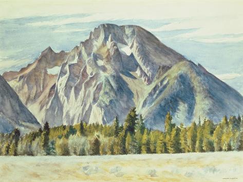 Mount Moran, 1946 Lámina giclée