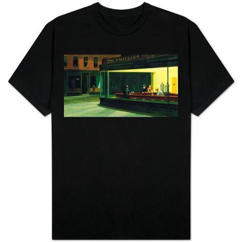 Edward Hopper - Nighthawks T-Shirt