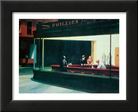 Noctámbulos, c.1942 Pósters por Edward Hopper en AllPosters.es