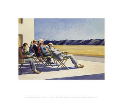 People in the Sun Art Print