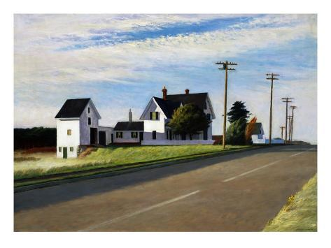 Route 6, Eastham Giclée-vedos