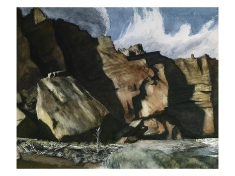 Shoshone Cliffs Giclee Print