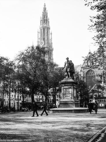 Antwerp, Belgium, 1930 Lámina fotográfica
