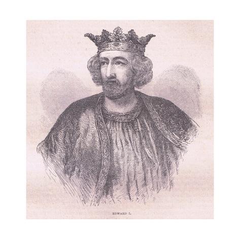Edward I Stampa giclée