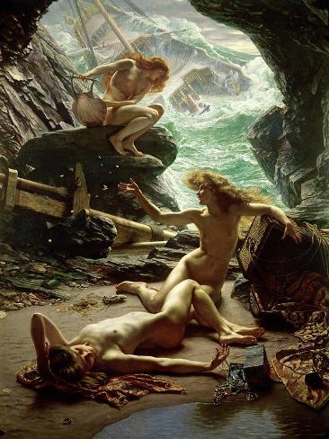 The Cave of the Storm Nymphs, 1903 Giclee Print