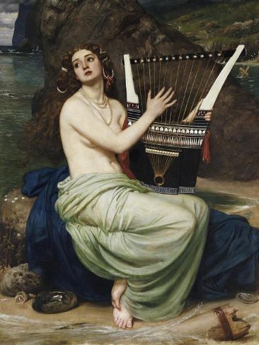 The Siren, 1864 Lámina giclée