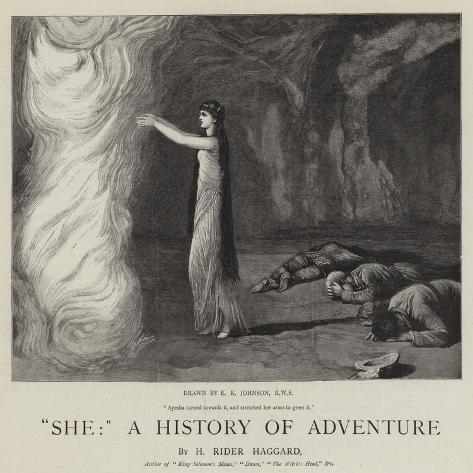 She, a History of Adventure Giclee Print