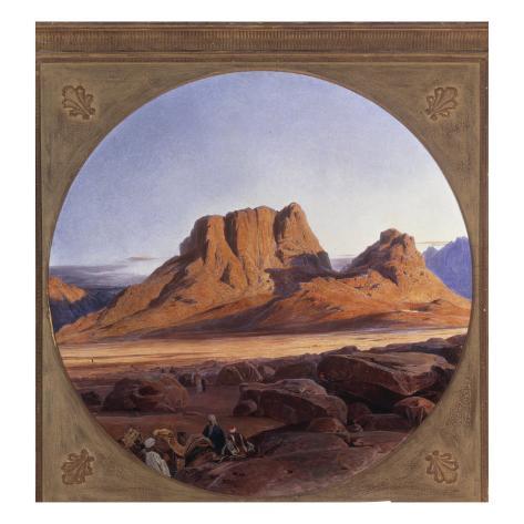 Mount Sinai, 1853 Giclee Print