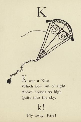 The Letter K Impressão giclée
