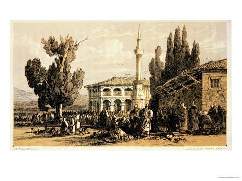 Tirana, from