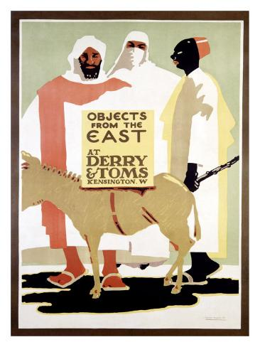 Derry and Tom's Objects from East Giclee Print