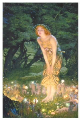 Midsummer Eve, c.1908 Framed Art Print