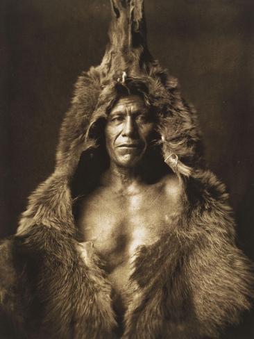 Bear's Belly-Arikara 1908 Giclee Print